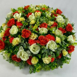 16 inch beautiful posy pad with 48 roses